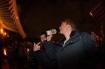So, nach getaner Arbeit hat sich das Organisationskomitee einen großen Schluck aus der Jägermeister-Flasche redlich verdient!