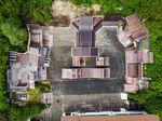 Der Skatepark Wendelstein aus der Vogelperspektive