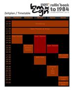 BMX Cologne 2015 Zeitplan