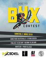 Am 2. März 2019 findet ein BMX-Contest für Amateure und Pros in der Boneyard Skatehalle in Siegen statt. Hier erfährst du mehr.