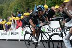 Richie Porte (Team Sky) bei der  Tour de France 2014 (Foto: Sirotti)