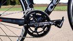 Am Serienrad ist die Rotor 3D+ Kurbel im Fünfarmdesign mit einem Satz 52/36 NoQ-Kettenblätter verbaut. Wer will, bekommt aber auch einen Kompaktantrieb verbaut.