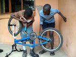 iSithumba-Sportgarten-BMX-Reperatur