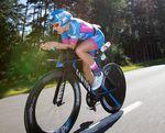 Das Radfahren ist Daniela Sämmlers Paradedisziplin. Foto: Ingo Kutsche