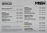 Der Zeitplan des Munich Mash 2019