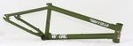 Hoffman Bikes Wade Frame BMX Rahmen in Olive Green
