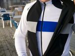 Barker recommends using a lightweight gilet or rain cape until you have warmed up at the start of a ride