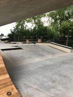 A-Frame Rail im Skatepark Friedrichshafen