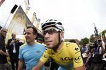 Vincenzo Nibali wore the yellow jersey of race leader for 19 of the 21 stages of the 2014 Tour de France and sealed overall victory with a controlled ride into Paris. pic: ©Sirotti Read more at http://roadcyclinguk.com/racing/reports/tour-de-france-2014-vincenzo-nibali-marcel-kittel.html#K7QCCi4TvwuQ2zob.99