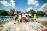 Die Gewinner des Fortgeschrittenencontests beim BMX Männle Turnier 2018 in Tuttlingen