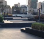 Skateboarding Beirut