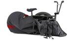 Vorderrad raus und fertig! Das Fuse Delta Bikebag ist nicht nur besonders stabil, sondern auch ein kleines Platzwunder. Hier erfährst du mehr.