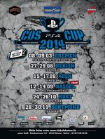 PlayStation 4 COS Cup 2014 - Alle Termine