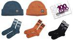 Adventsverlosung 2020, Teil 2: Gewinne einen Einkaufsgutschein + alle drei Farben der neuen Hoodies, Beanies und Socken vom kunstform BMX Shop.