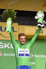 Marcel Kittel sprintet zu seinem 5. Etappensieg dieser Tour de France und führt weiterhin in der Punktewertung. (Foto: Sirotti)