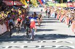 Die vierte Etappe der Tour de France 2017 sollte Peter Sagans letzte sein. Doch Bora-hansgrohe will dagegen vorgehen. Foto: Sirotti