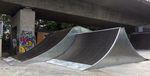 Jumpbox und Spine im Skatepark Friedrichshafen