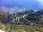 Der berühmte Pass Alpe d