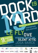 Headline des Dockyard Musikfestivals 2019 in Flensburg sind Le Fly