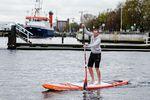 Autor Timm Kruse beim Training in der ieler Bucht. Foto: Frank Molter / HAVE A GOOD ONE