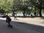 All alont the A7 – Unitedskateboardartists und Über Skateboards Tour