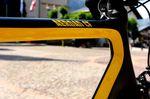 Nicolas Roux ist Markenbotschafter von Mavic. Daher die gelben Decals.
