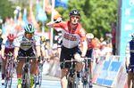 Andre Greipel (Lotto Soudal) gewinnt die 1 Etappe der Tour Down Under. (Foto: Sirotti)