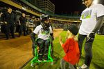 Wheelz catches up with fans during a Nitro Circus Live show - Photo: Nitro Circus