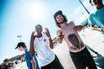 Good vibes auf der Ride Hard Session Tour 2019  im Yverdon Skatepark