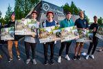 Die Gewinner des Pro-Parkcontests auf dem Butcher Jam 2018 im Schlachthof Flensburg