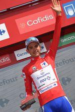 Aber es reichte nicht: Rudy Molard (Groupama FDJ) übernimmt nach der 5. Etappe die Führung im Gesamtklassement der Vuelta A Espana (Foto: Sirotti)