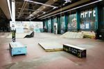 DIY-BMX-Halle in Frankfurt