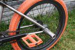 Hinterbau des Federal Bikes Lacey DLX BMX-Rahmens