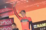 Für den jungen Slovenen ist dieser Etappensieg sein zweiter Tagessieg bei einer Grand Tour. 2017 gewann Mohoric eine Etappe bei der Vuelta a Espana. (Foto: Sirotti)