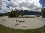 Betonpark in Neuseeland mit traumhaftem Panorama