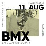 Landesmeisterschaft in BMX Freestyle Park + wethepeople Street Session + Flatlandbattle? In Halle (Saale) wagt man am 11. August 2018 den Spagat.