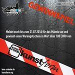 Wer sich bis Ende Juli für das BMX Männle Turnier 2016 im Skatepark Tuttlingen anmeldet, nimmt automatisch an der Verlosung eines Einkaufsgutscheins von kunstform teil. Tu es!