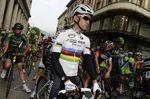 Der neue Weltmeister Kwiatkowski stand vor dem Rennen im Fokus der Aufmerksamkeit. (Foto: Sirotti)