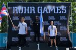 Die Gewinner des BMX-Minirampcontests auf den Ruhr Games 2019 in Duisburg