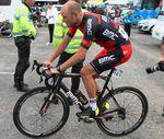 Steve Cummings vor der 2. Etappe.