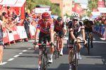 An der Gesamtwertung hat sich nach der 13. Etappe nichts geändert: Chris Froome liegt weiterhin in Führung. (Foto: Sirotti)