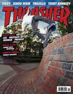 Thrasher Cover Marc Johnson