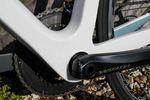 Für einen optimalen Sitz des Umwerfers hat Ritte dem Sitzrohr auf der Antriebsseite ein rundes Profil verpasst. Auf der anderen Seite ist es hingegen flach mit starken Kanten.
