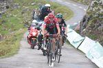 Chris Froome konnte Contador nicht mehr einholen. Aber er besiegelte mit seinem zweiten Platz auf der 20. Etappe seinen Gesamtsieg. (Foto: Sirotti)