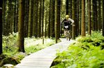 Jörg Domanowski beim Trail Trophy Rennen in der Lenzer Heide
