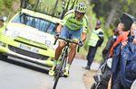 Roman Kreuziger wird Alberto Contadors rechte Hand in den Bergen sein, sieht hier aber nicht aus, als würde er sich zurückhalten. Foto: Sirotti