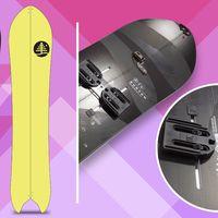 burton pow rench, powrench, splitboard, snowboard