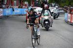 Mikel Nieve bestritt einen beachtlichen Soloritt und sicherte sich den Etappensieg. Foto: Sirotti