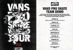 Vans Demo Tour 2013