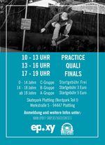 Am 29. Juli 2017 findet im Skatepark Plattling ein BMX- und Skatecontest statt, bei dem es Sachpreise vom Epoxy Boardershop zu gewinnen gibt.